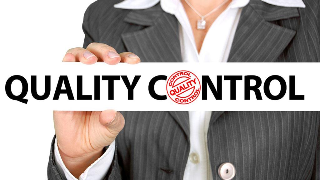 وظایف مسئول کنترل کیفیت